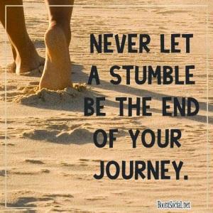 stumble journey