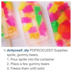 sprite and gummy diy