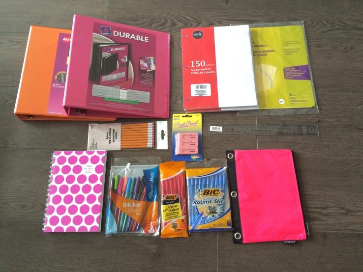 all supplies