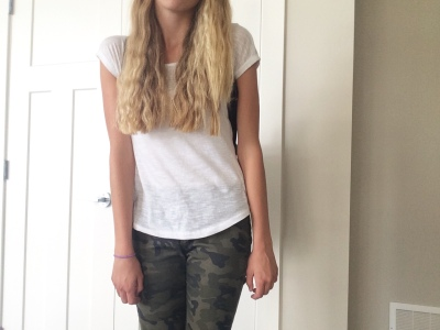 camo pant outfit